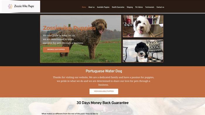 Zossievike.com - Labradoodle Puppy Scam Review