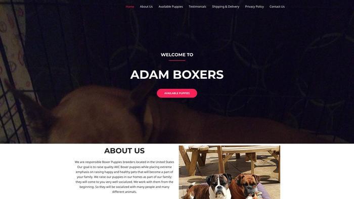 Adamboxers.com - Boxer Puppy Scam Review