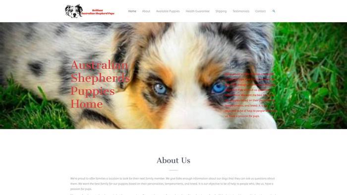 Brilliantaustralianshepherdspuppies.com - Germanshepherd Puppy Scam Review