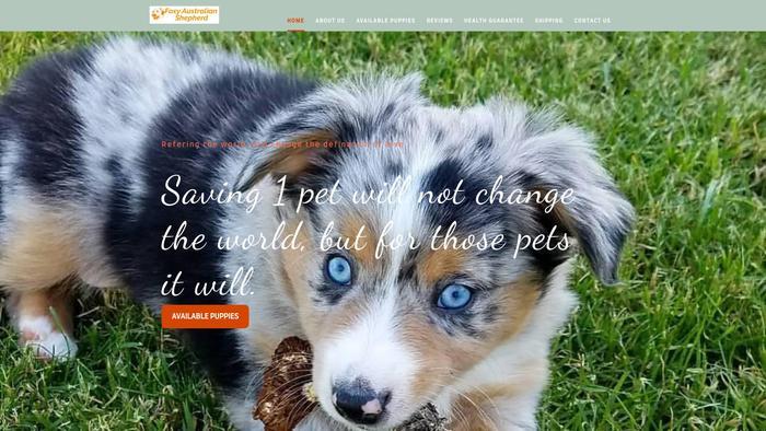 Foxyaustralianshepherdpuppies.com - Germanshepherd Puppy Scam Review