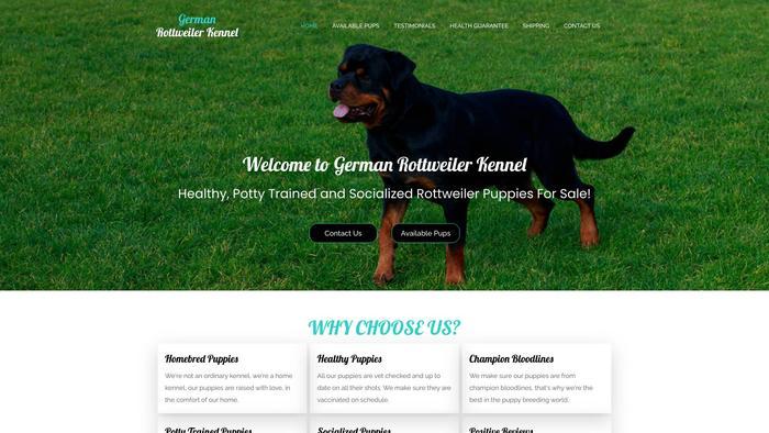 Germanrottweilerkennel.com - Germanshepherd Puppy Scam Review