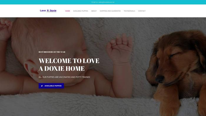Loveadoxxie.net - Dachshund Puppy Scam Review