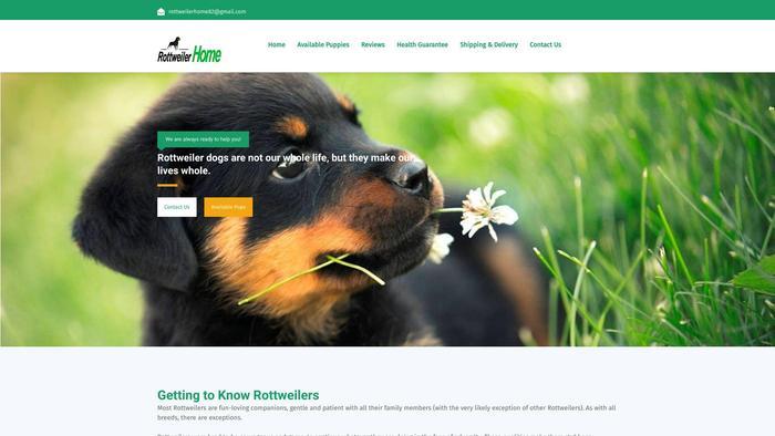 Rottweilershomes.com - Rottweiler Puppy Scam Review