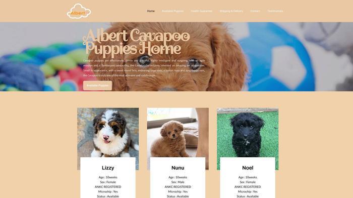 Albertcavapoopuppies.com - Cavapoo Puppy Scam Review