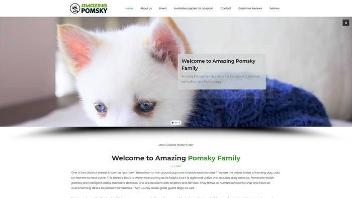 Amazingpomskyfamily.com - Pomeranian Puppy Scam Review