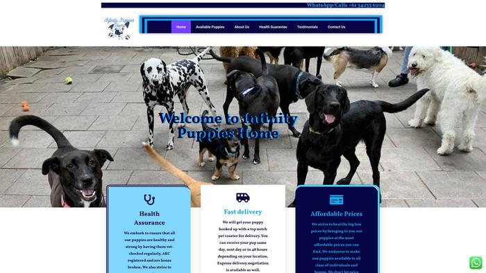 Infinitypupshome.com - Germanshepherd Puppy Scam Review