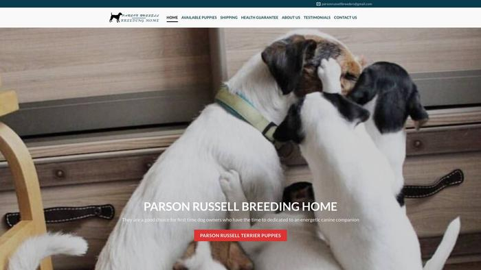 Parsonrussellbreedinghome.com - Jack Russell Terrier Puppy Scam Review
