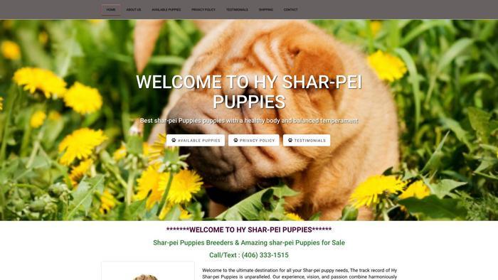 Chinesesharpaipuppies.com - Sharpei Puppy Scam Review