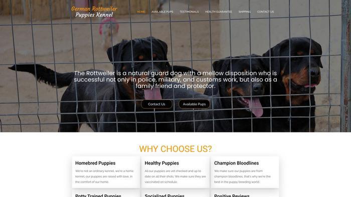 Germanrottweilerpuppieskennel.com - Germanshepherd Puppy Scam Review