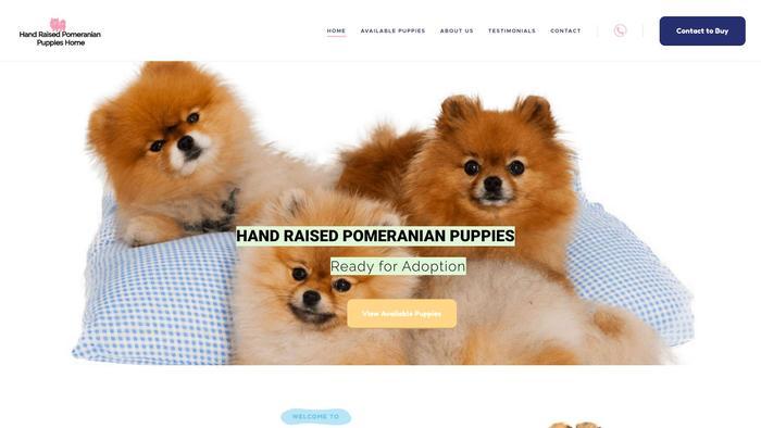 Handraisedpomeranianpuppieshome.com - Pomeranian Puppy Scam Review