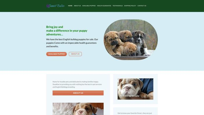 Jumatibullies.com - English Bulldog Puppy Scam Review