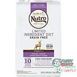 NUTRO Limited Ingredient Diet Venison