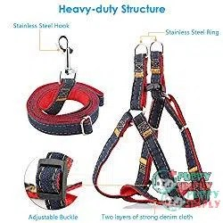 URPOWER Dog Leash Harness 1