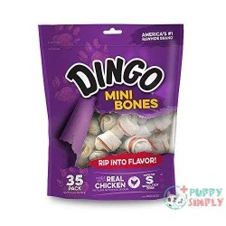 Dingo Mini Bones Rawhide for