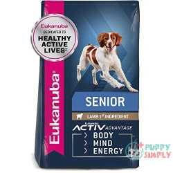 Eukanuba Senior Lamb & Rice Formula Dry Dog Food By Eukanuba