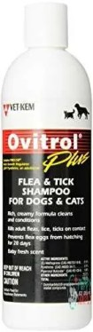 Ovitrol Plus Dog Flea and Tick Shampoo