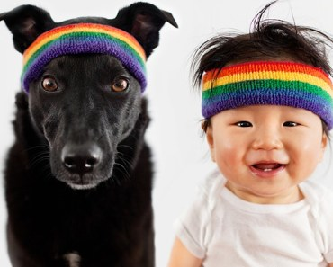 Baby and Dog 'Zoey and Jasper' Photoshoot is Sweeping the Nation