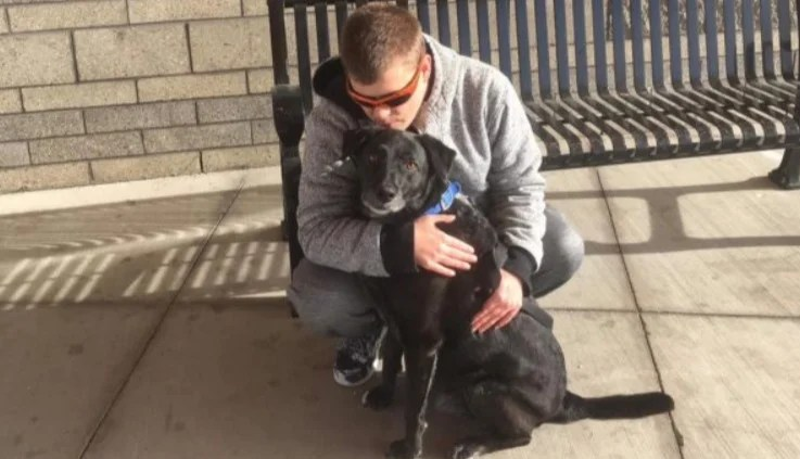 Blind Man and Dog