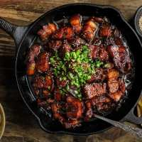 Chinese Style Beer Braised Pork Belly