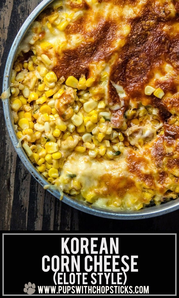 Korean Corn Cheese (Elote Style)