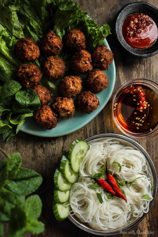 Lemongrass Pork Meatballs (Larb Style) - 3 Ways