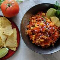 Sweet & Spicy Pineapple Salsa