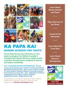 Ka Papa Kai Fall 2017 Registration Open!