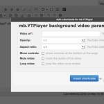 WordPress mb.YTPlayer Tiny plugin