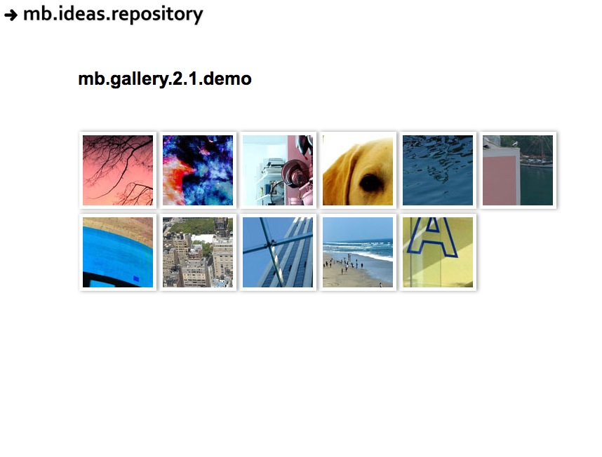 2012 jquery image gallery