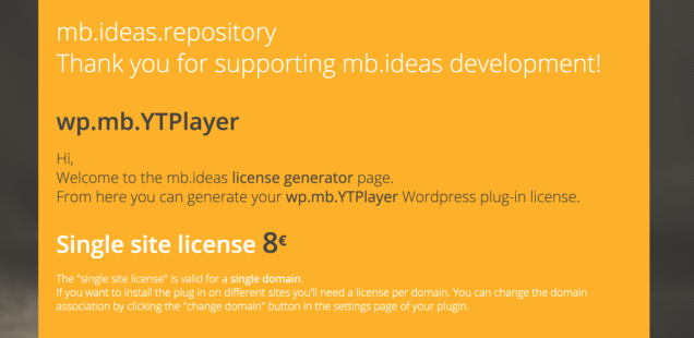 mb.YTPlayer 3.0 for Wordpress