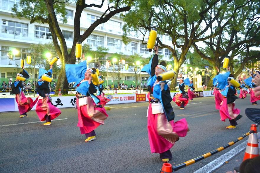 高知よさこい祭り2018|提灯乱舞の写真