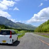 熊本県阿蘇山周辺ドライブの写真