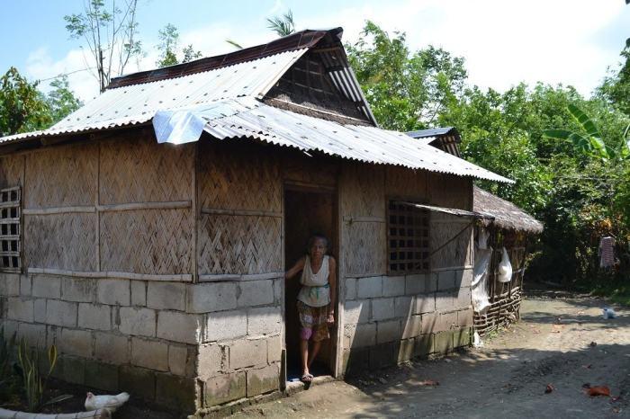 フィリピン人の家