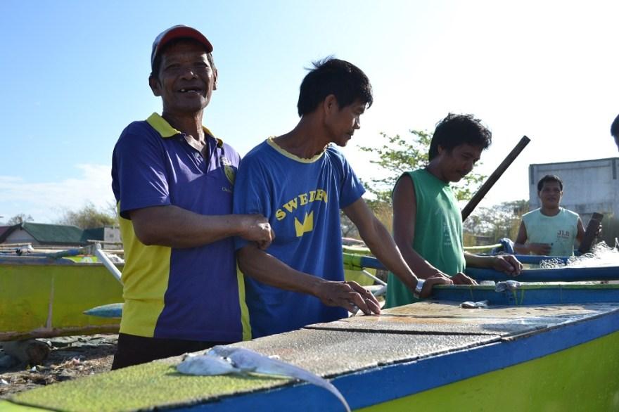 漁師の写真