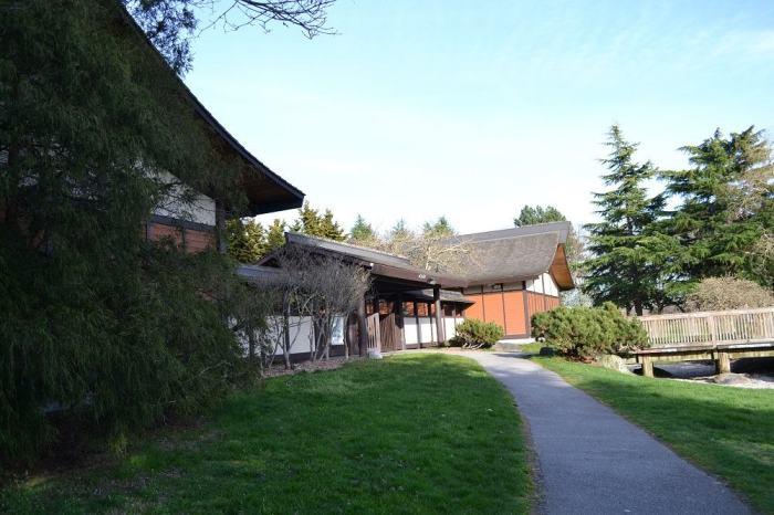 スティーブストンの日本家屋の写真