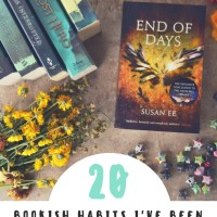 20 Bookish Habits I've Been Having Since the Old Days