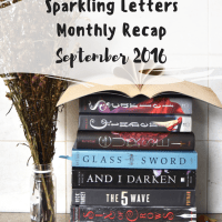 Sparkling Letters Monthly Recap: September 2016