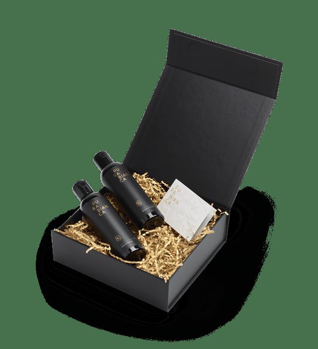 Luxe giftbox met douchegel & bodylotion