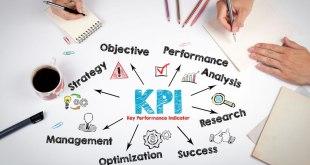 Folha com tópicos de KPIs