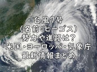 台風7号 画像