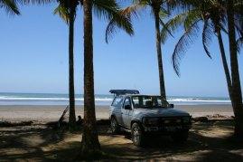 New Car on the beach
