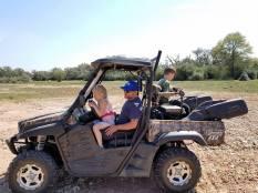 Cruising in the ATV