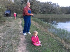 Fishing with grandpa