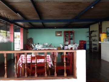 The restaurant where we ate breakfast - for less than $3
