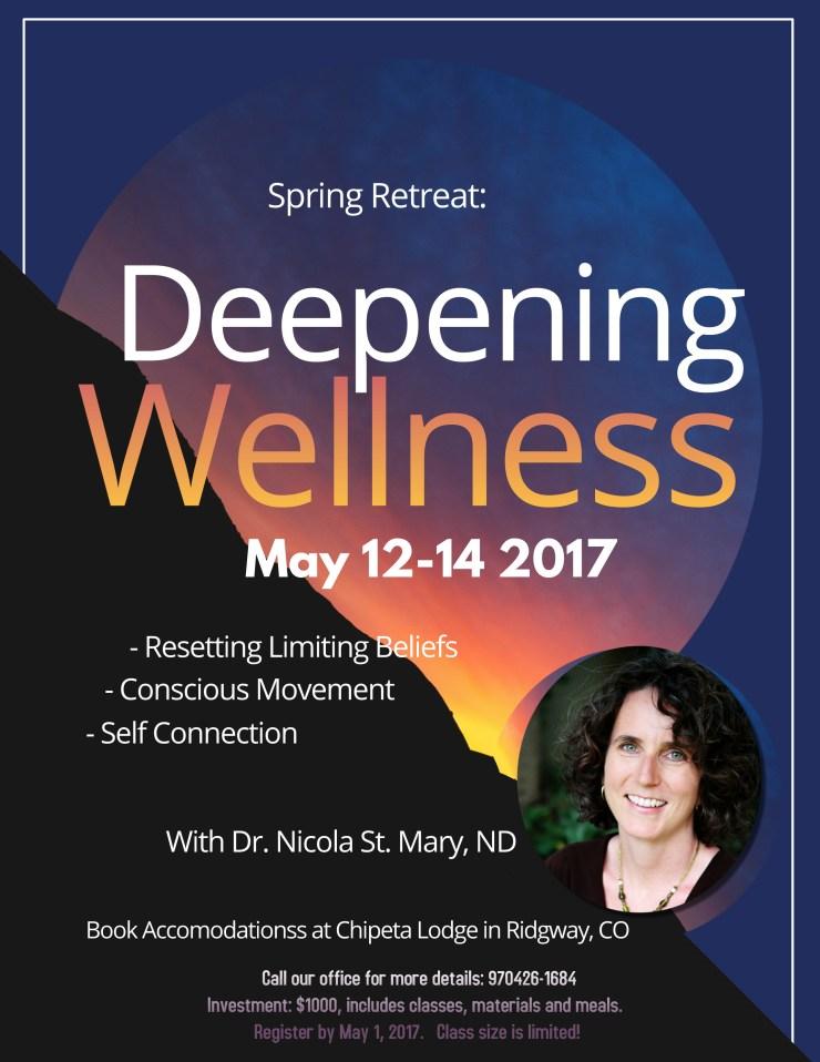 Spring Retreat 2017 flyer
