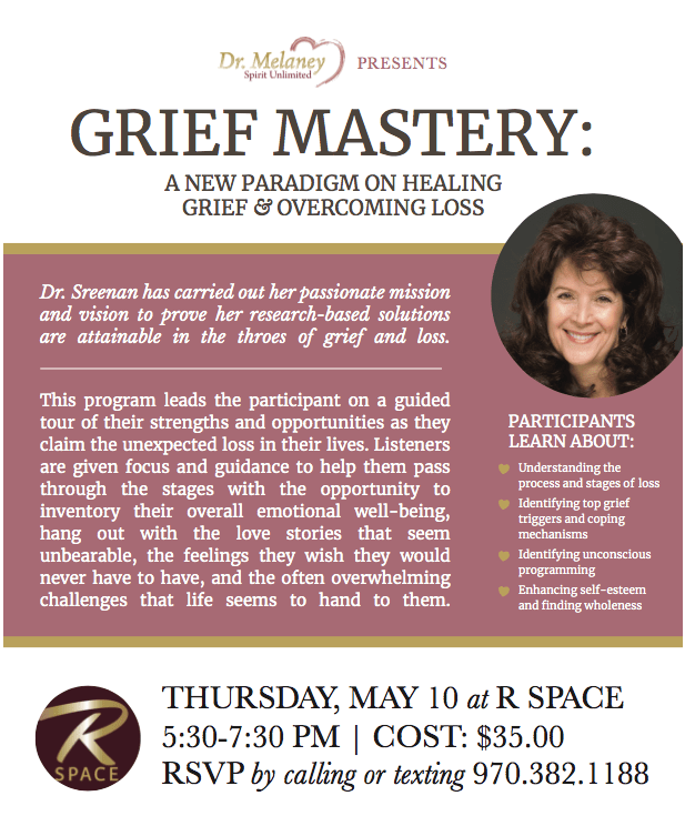 Grief Mastery with Dr. Melaney