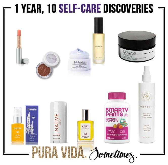 One-Year, 10 Self-Care Discoveries - Pura-Vida-Sometimes