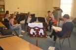 Martin Saving coaching Brahms Piano Quartet © Hattie Rayfield