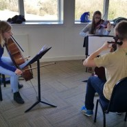 Lauren Steel with the Piano Trio