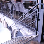 Indoor Railing with Mesh Infill (3)